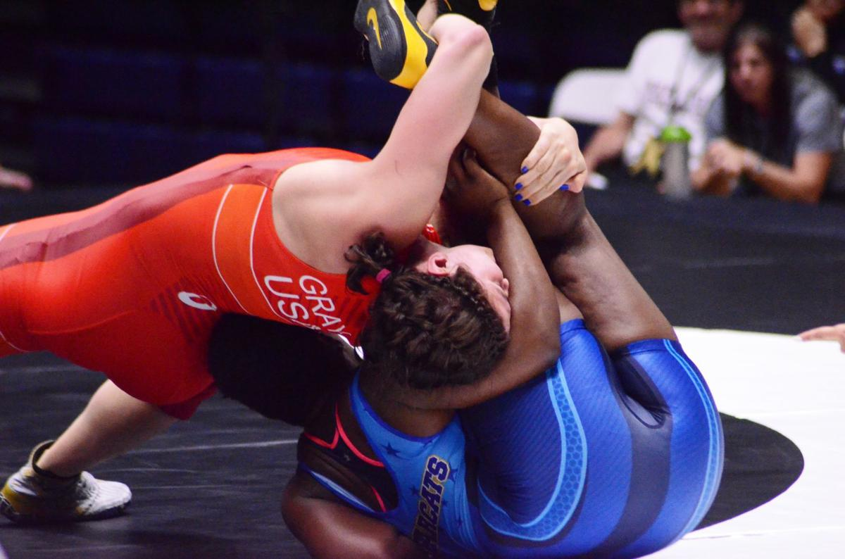 Taylor clinches U S  World Team berth in return to Rec Hall