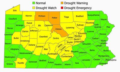 Bradford County remains on drought watch as new county added