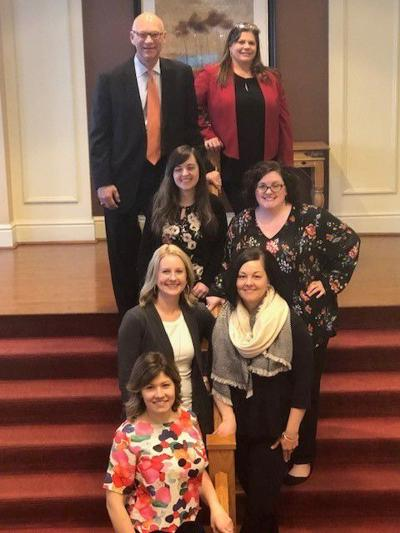 C&N awards Teresa (Teri) L. Mitchell  Scholarship to four employees