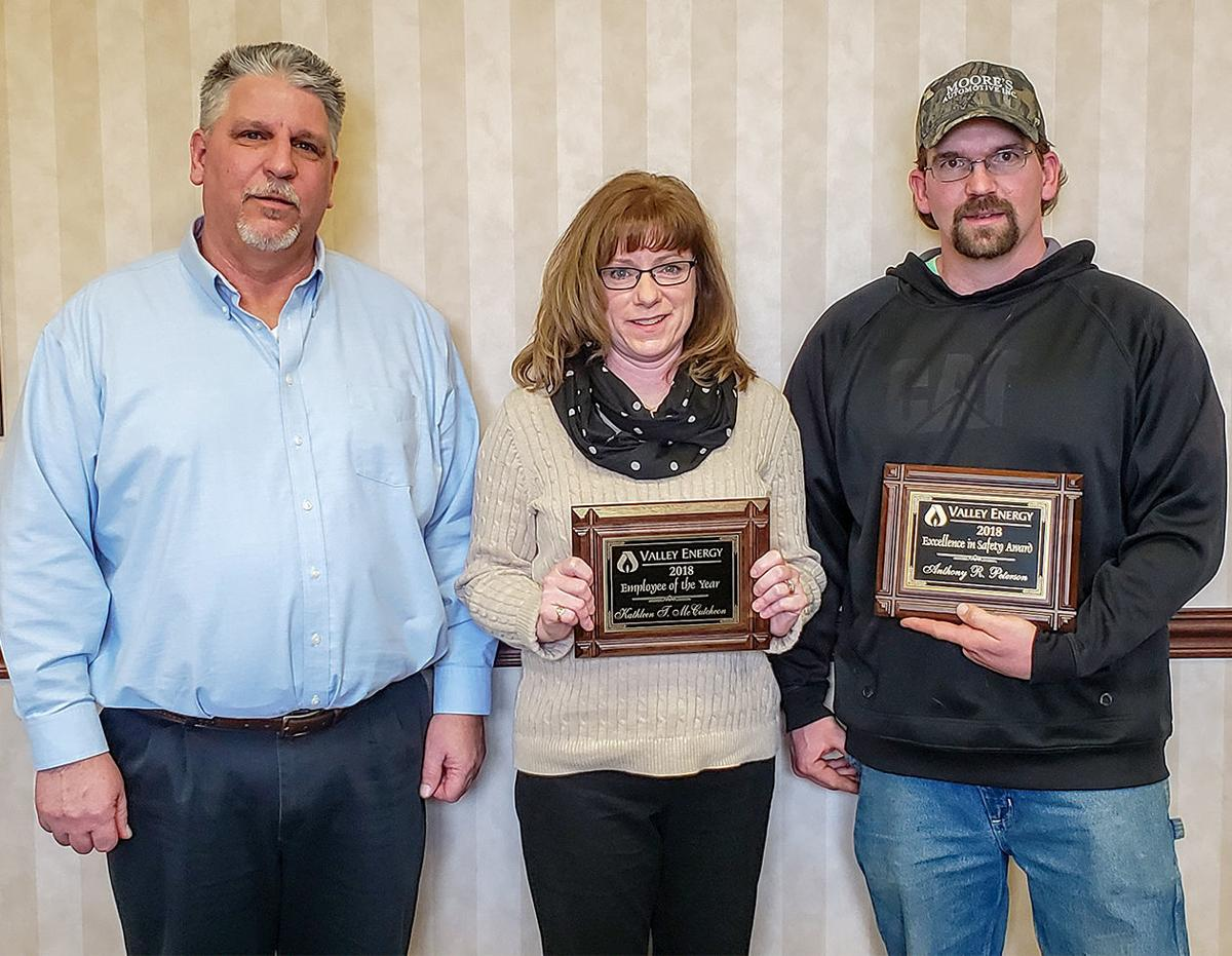 Valley Energy honors employees at awards event