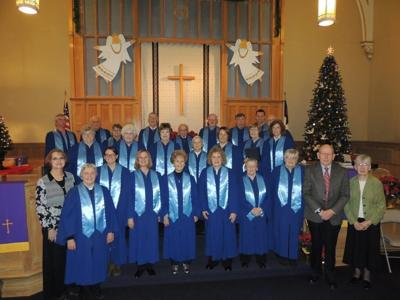 Pictured above is the Chancel Choir of the Towanda First Presbyterian Church from last year's Christmas cantata event.