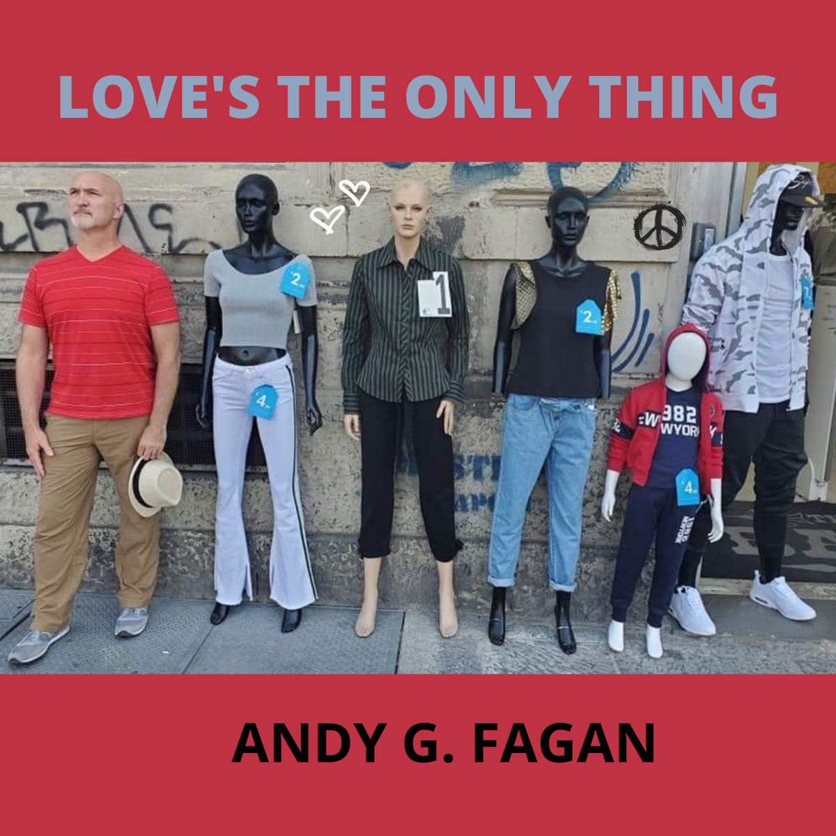 Latest album from local musician all about love