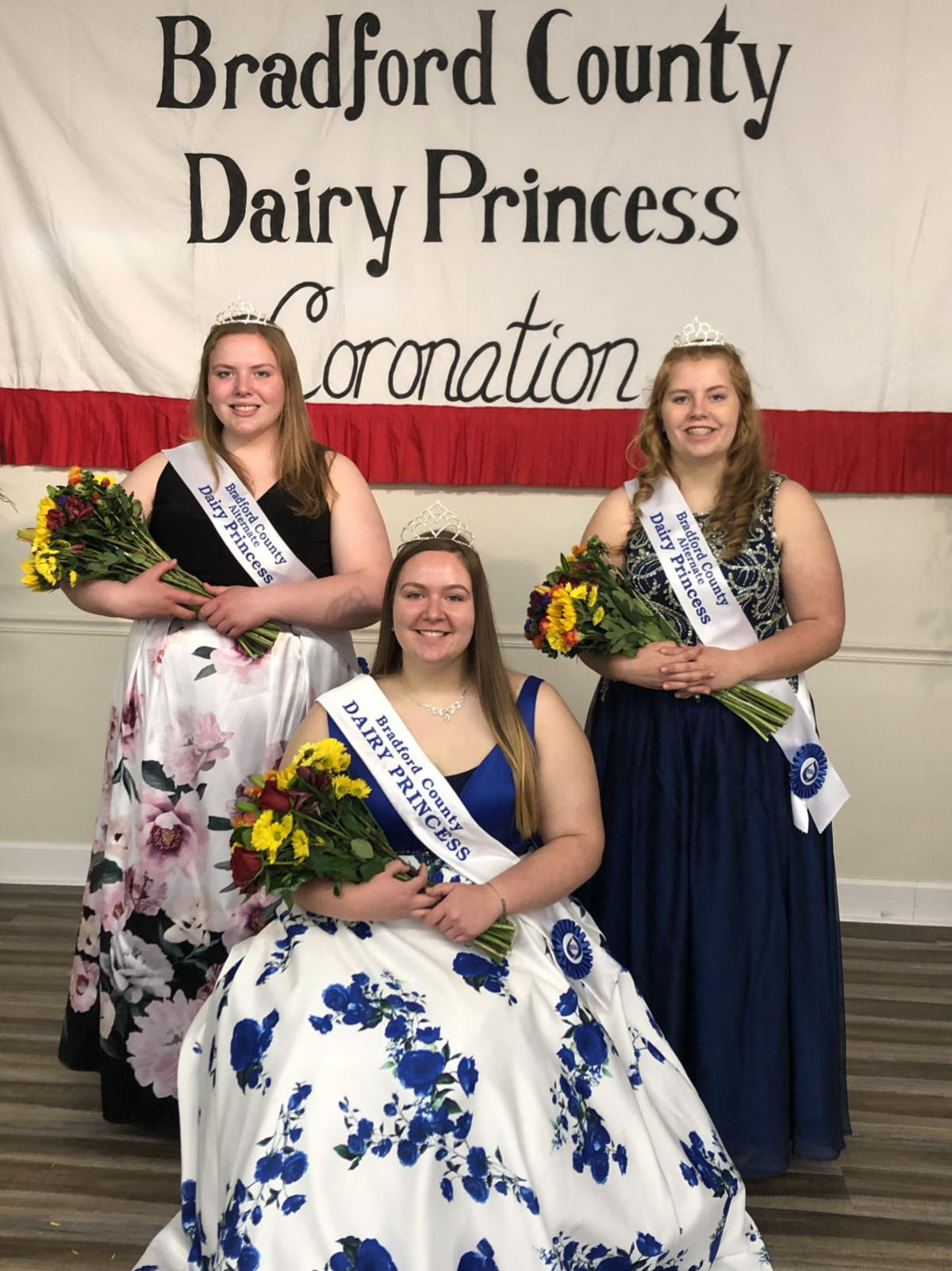 Towanda's Bride-Marshall crowned Bradford County Dairy Princess