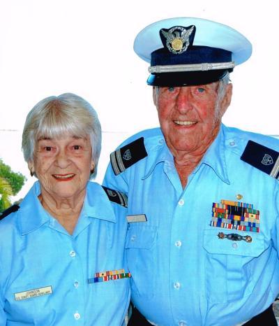 Vernon Arthur Johnson, 96, and Gloria Claire Mitchell Johnson, 94