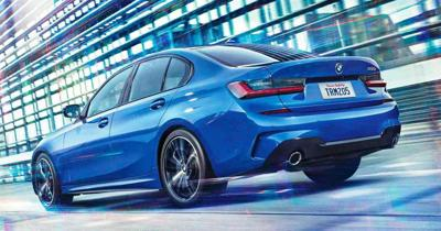 2019 BMW 3Series-Sedan rear action 2.jpg