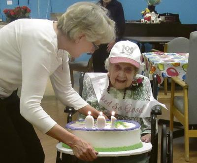 Sidney woman celebrates 100th birthday in Oneonta
