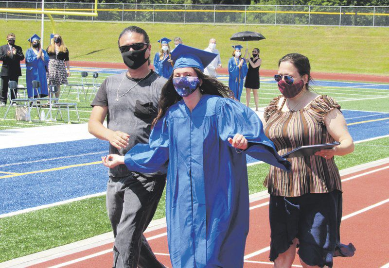 Weather clears for postponed OHS graduation