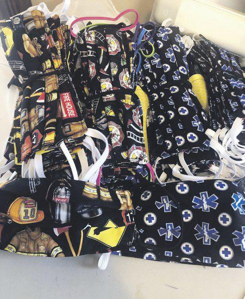 Local 'Mask Mafia' creates, donates 10,000 face covers