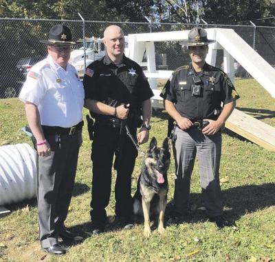 Delaware sheriff has new K9 team
