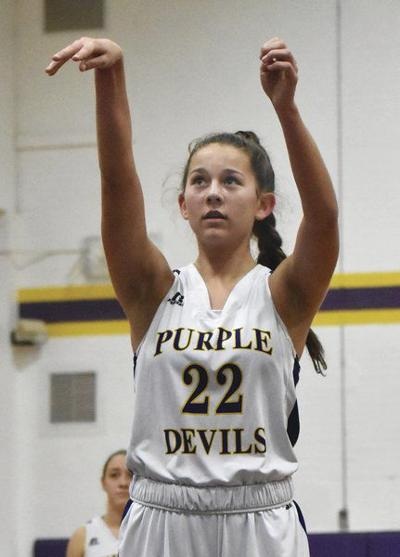 Franklin sophomore Kayla Campbell reaches 1,000 points in win over Laurens