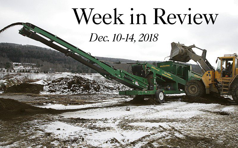 Week in Review: Dec. 10-14, 2018