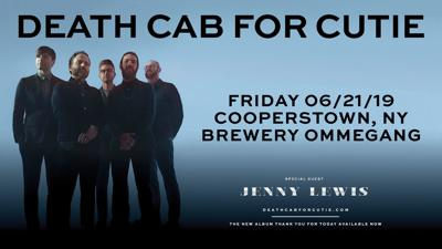 Death Cab for Cutie to Perform at Brewery Ommegang!