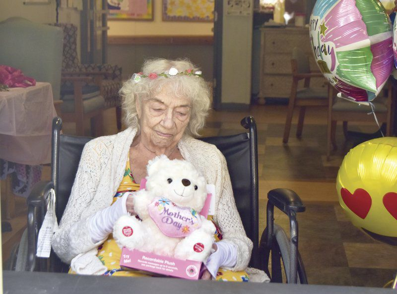 Oneonta woman celebrates 100th birthday at a distance