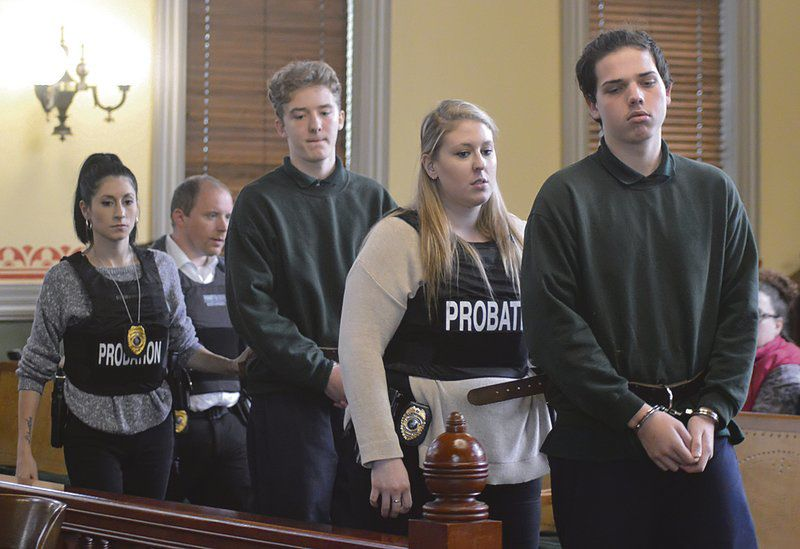 Two of five teens in murdercase to be tried as juveniles