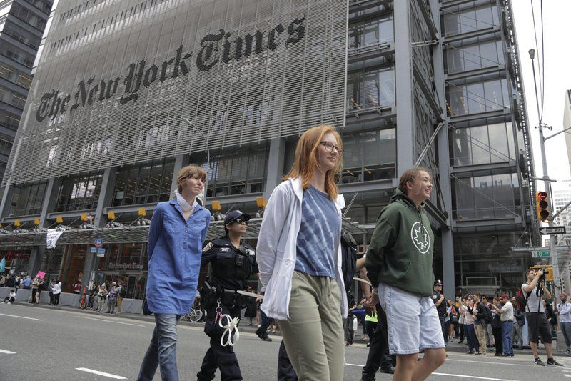 Dalton Delan: New York Times sails off course