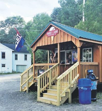 Edmeston woman opens 'ice cream cabin' in Milford