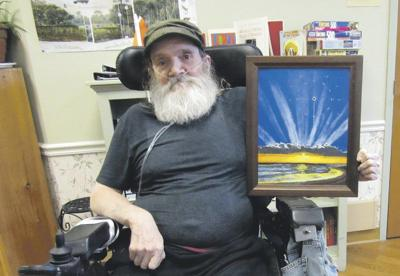 Local resident earns statewide honor for artwork