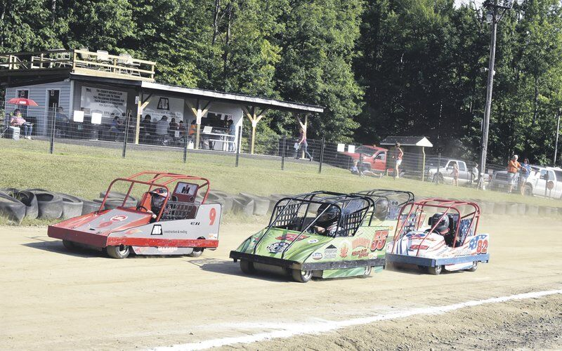 Small cars are big fun foryoung racers