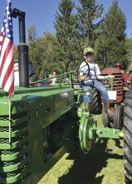 Tractors draw crowd in Sidney Center