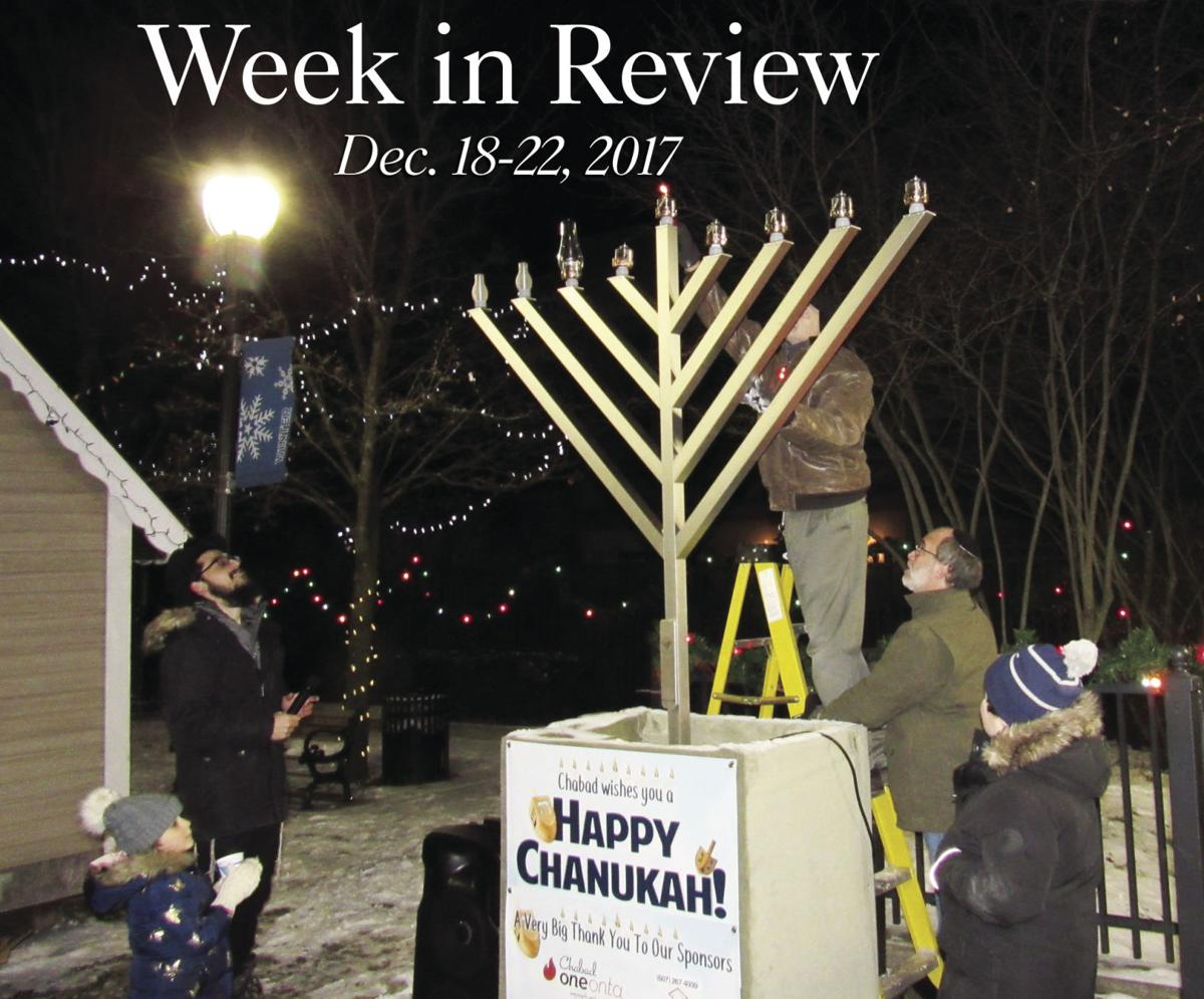 Week in Review: Dec  18-22, 2017 | Local News | thedailystar com