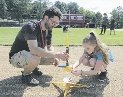 Students shoot for stars at science camp