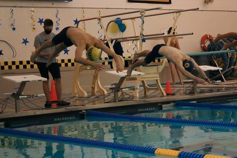 Oneonta virtual swim meets have an 'eerie' feel