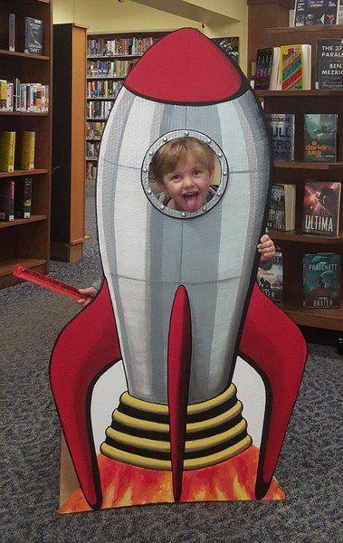 Rocket Ship Photo Booth Adds To World Space Week Offerings