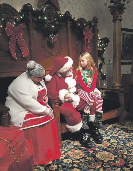 Santa Saturdayis paired with small business event