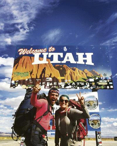 Duo walks across U.S. for two causes