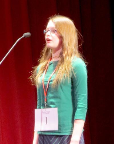 Morris girl wins regional spelling bee