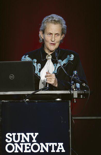 Autism expert Grandin speaks at SUNY Oneonta