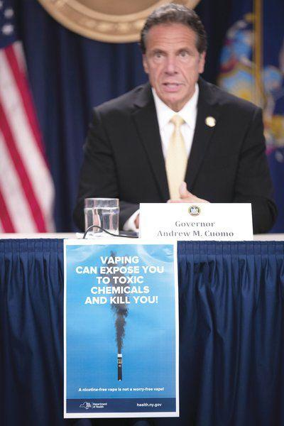 Cuomomoves to ban flavored e-cigarettes
