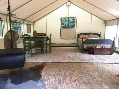 Dirt Road Camp offers unique outdoor experience