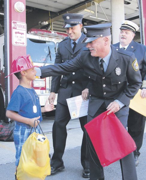 Boy, 5, honored for heroic 911 call | Local News