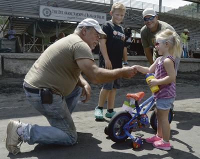 Kids day at Delaware fair features bicycle giveaway