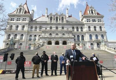 N.Y. police agencies: Pot is still forbidden for officers
