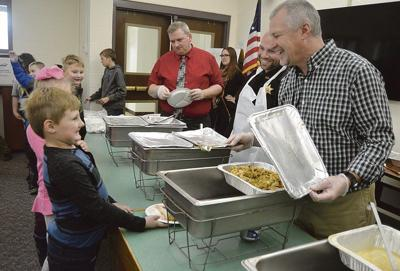 BOCES celebrates Thanksgiving with luncheon