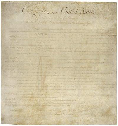 Guest Commentary: The Bill of Rights has special meaning in our government