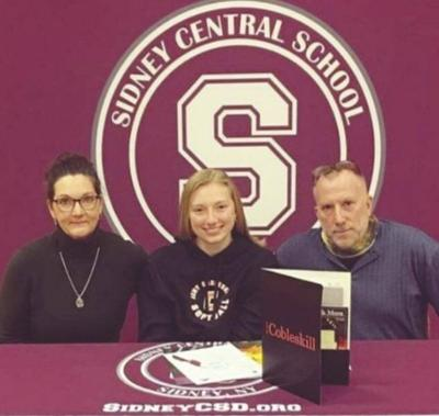 Family first: Sidney's DeMott to play for Cobleskill