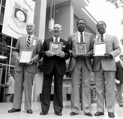 Backtracking: In Our Times: Hall of Fame weekend in 1982 featured Hank Aaron