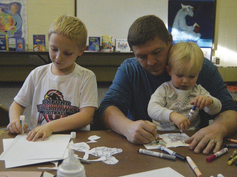 Scavenger hunt encourages literacy