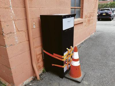 Syringe disposal box broken into in Norwich