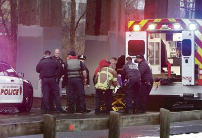 Missing woman saved from stream by Oneonta police, firefighters