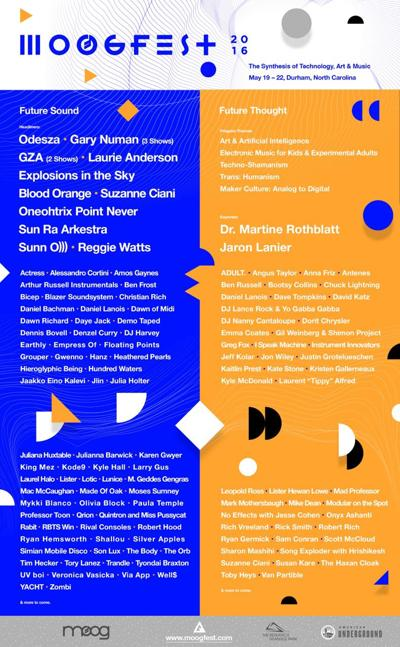 The Road to Moogfest 2016 | Music | thedailystar com