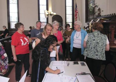 Hundreds attend immigration event in Cooperstown