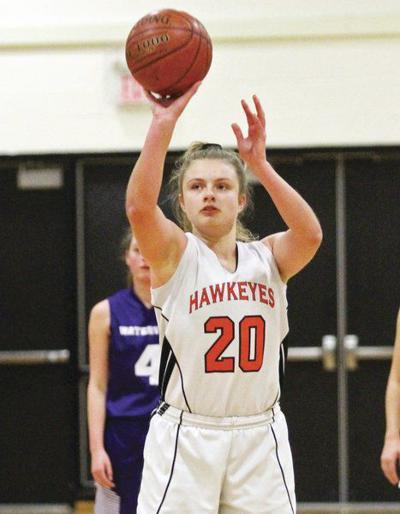 Piper Seamon reaches 1,000 points as Cooperstown wins