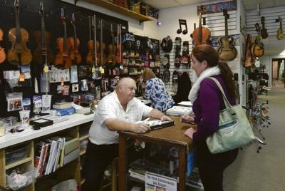 Music store brings harmony to local family