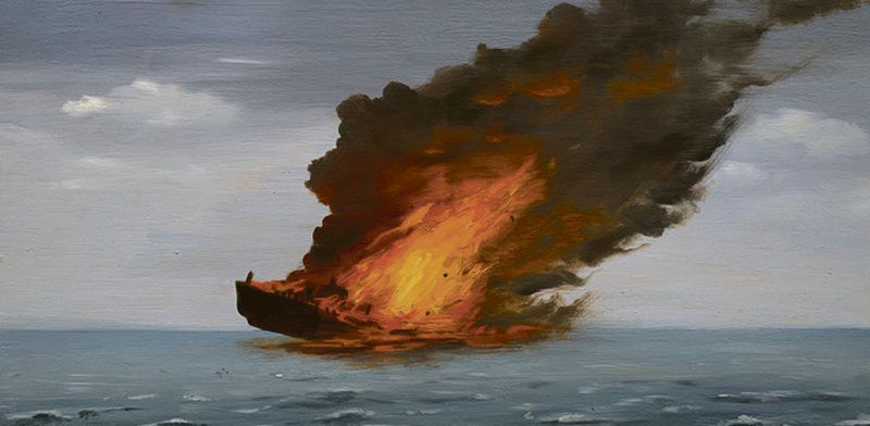 Fire, house dress painting to go on display at WKC