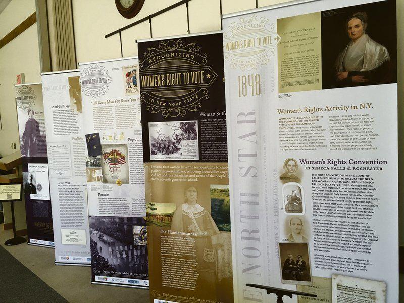 ... School Climate  black color ead30 aef63 Sidney exhibit spotlights womens  suffrage ... 94c8f7228c