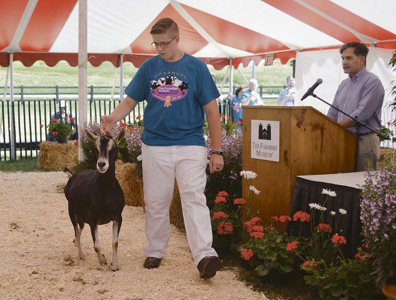 Local kids vie in Farmers' Museum livestock show
